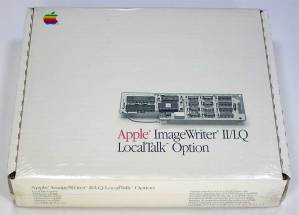 Apple ImageWriter II/LQ LocalTalk Option