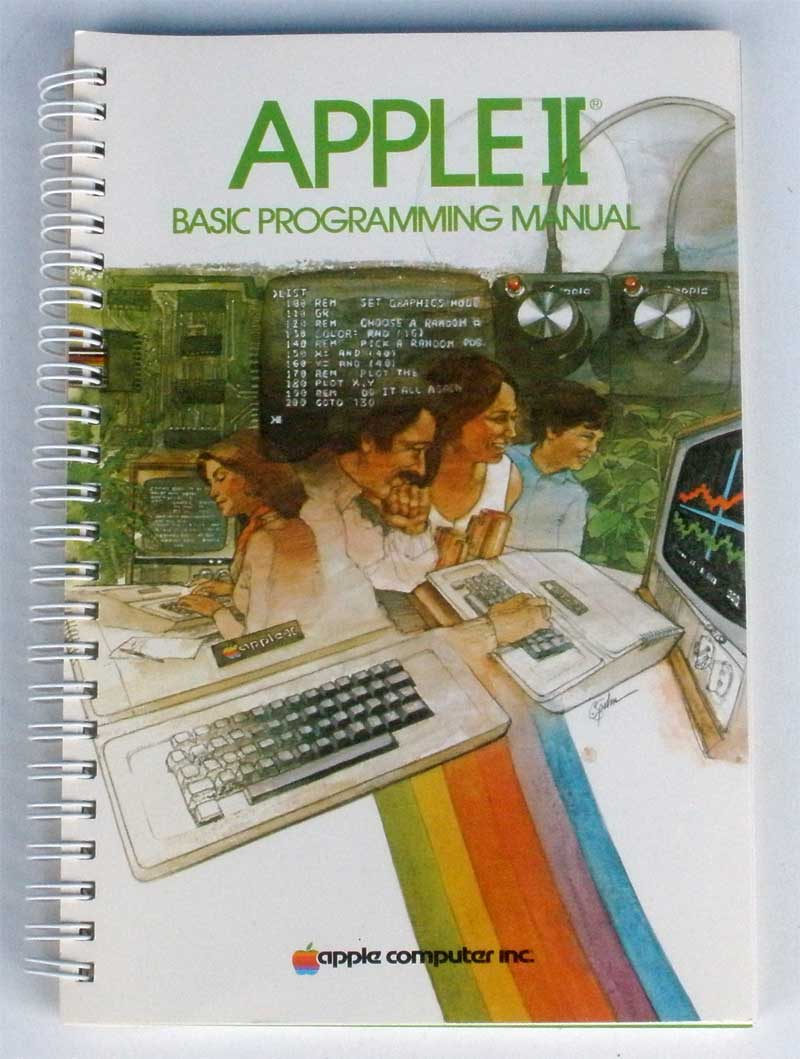 Apple ii basic programming manual apple rescue of denver for Apple product book