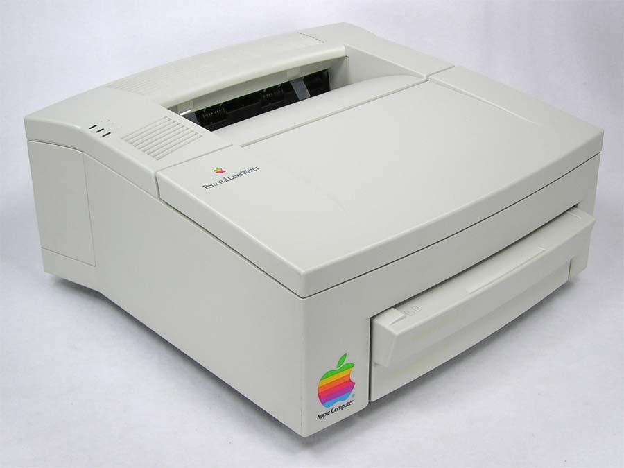 apple personal laserwriter 300 printer serial